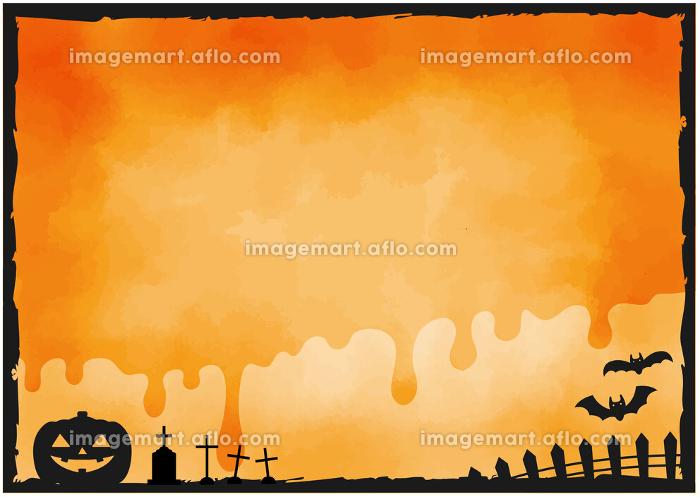 ハロウィン背景 素材 / ベクターの販売画像
