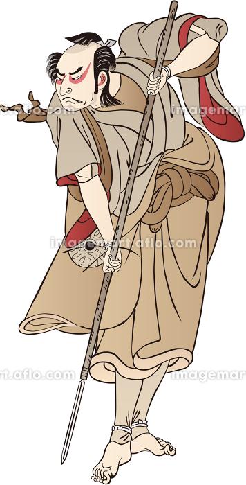 浮世絵 歌舞伎役者 その45の販売画像