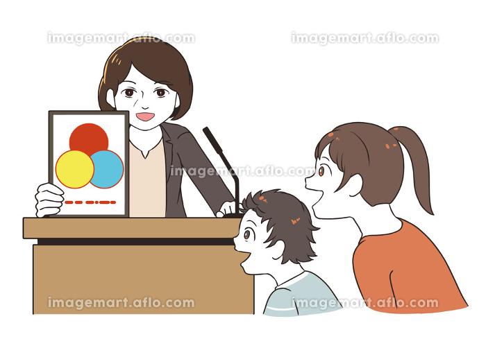 ロゴ発表を見る 女性