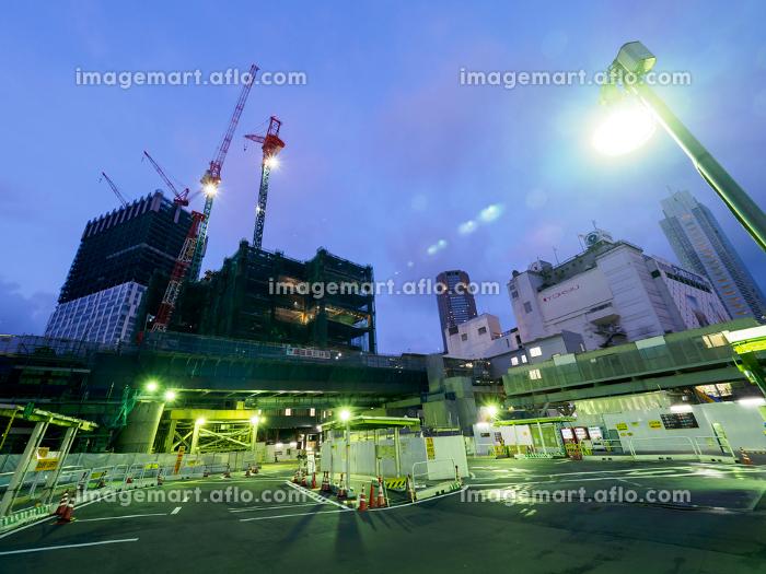 渋谷 再開発 夜景 2017年6月の販売画像