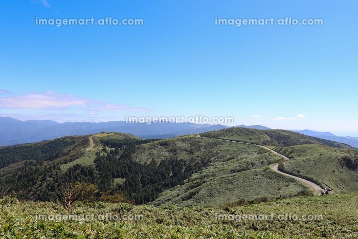 達磨山から見た西伊豆スカイライン(静岡県)の販売画像