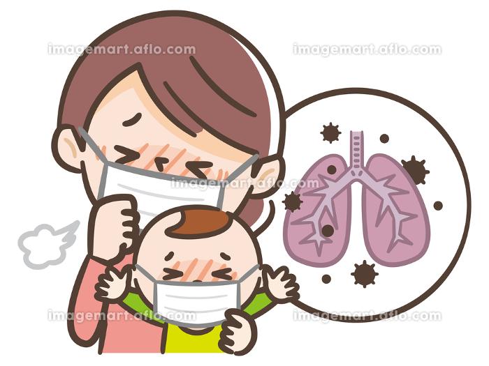 肺炎 親子の販売画像