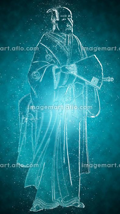 浮世絵 武士 その9 クリスタルバージョンの販売画像