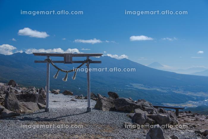 車山山頂からの絶景(車山神社)の販売画像