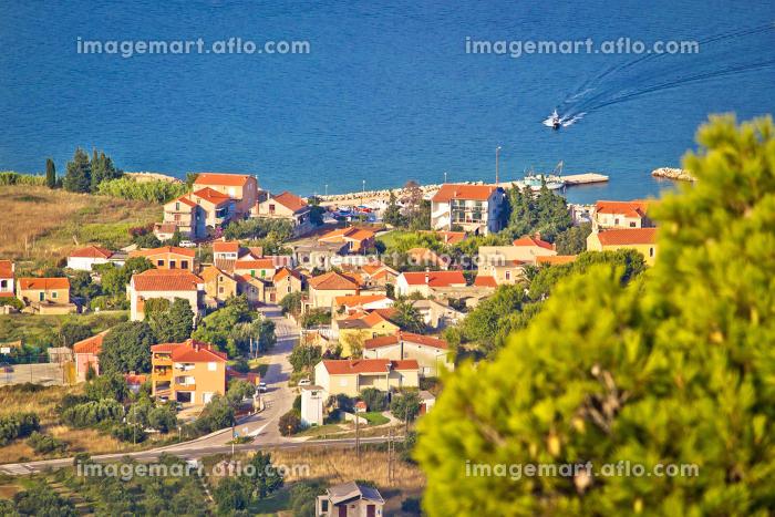Coastal village on Island of Pasmanの販売画像