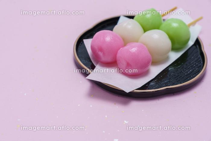 和菓子 三色団子の販売画像