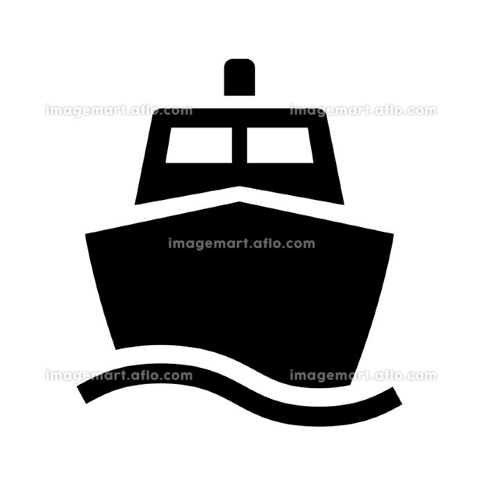 船のアイコン ピクトグラムの販売画像