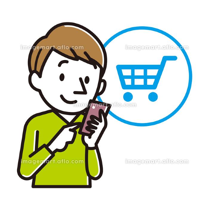 ネットショッピング 男性の販売画像