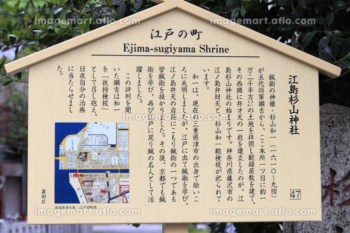 江島杉山神社の説明の販売画像