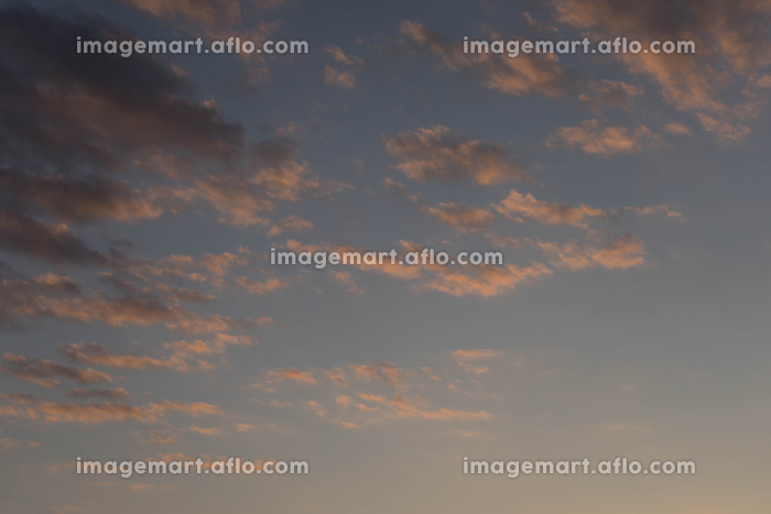 朝焼けの空の販売画像