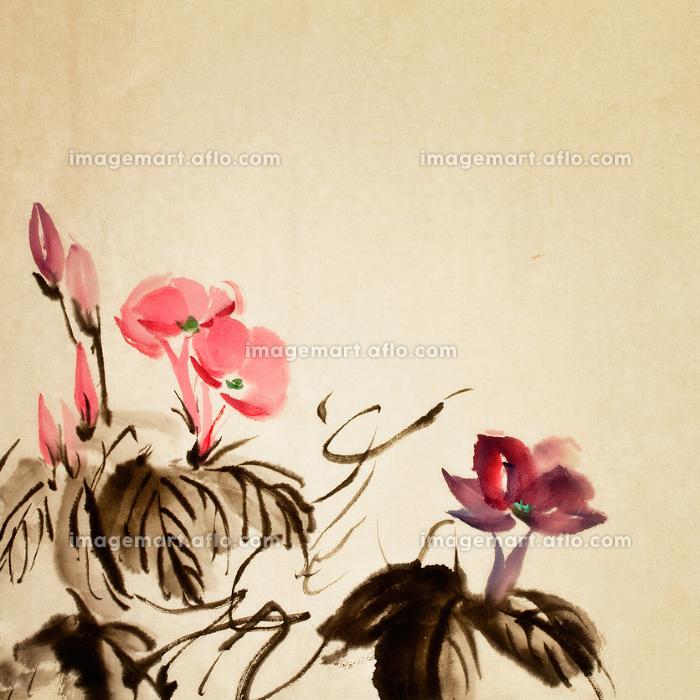 東アジア アート 花の販売画像