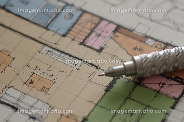 家の図面(設計図)の販売画像