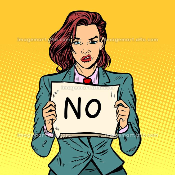 No female protestの販売画像