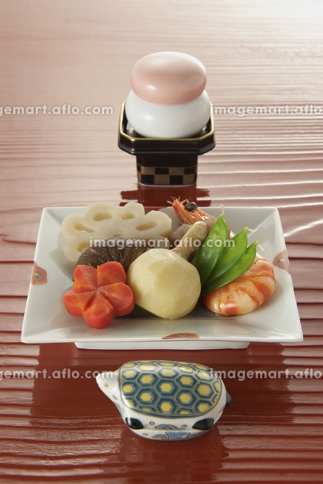正月料理の販売画像