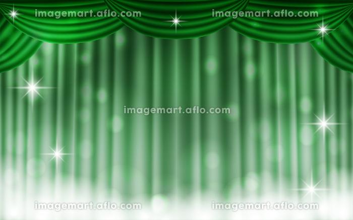 キラキラしたステージカーテンの背景素材