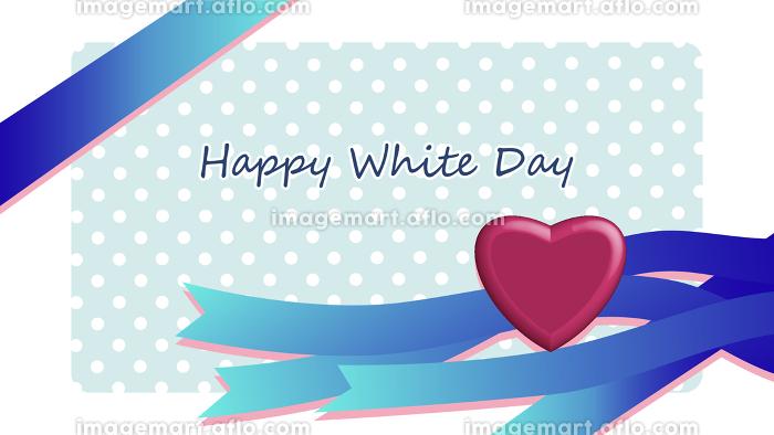 ホワイトデーのフレーム素材の販売画像