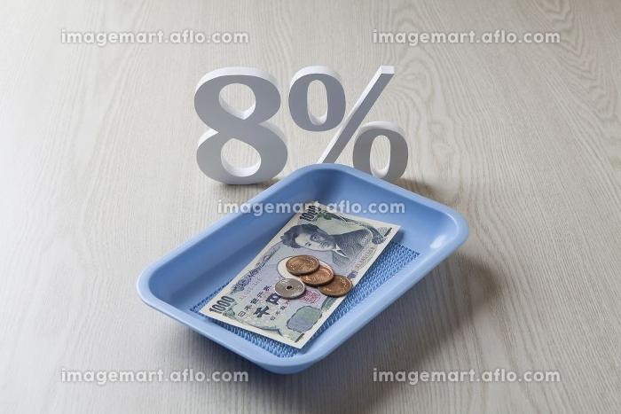 消費税8%の販売画像