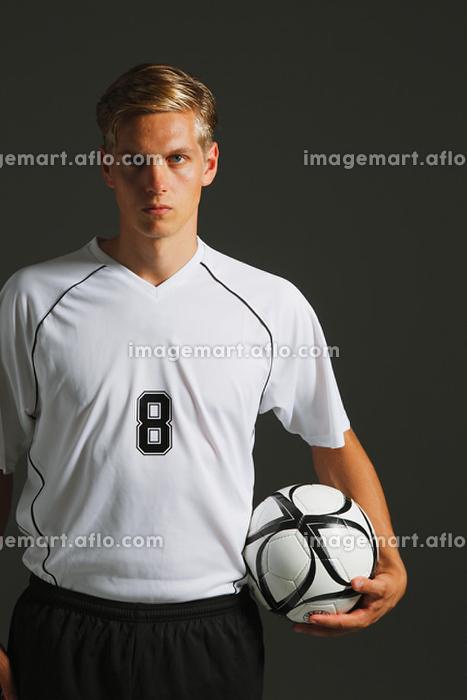 サッカー選手の販売画像