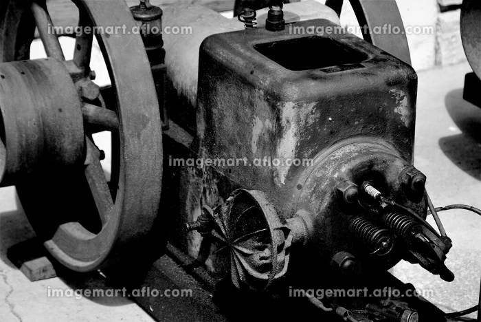 レトロなレシプロエンジンの販売画像