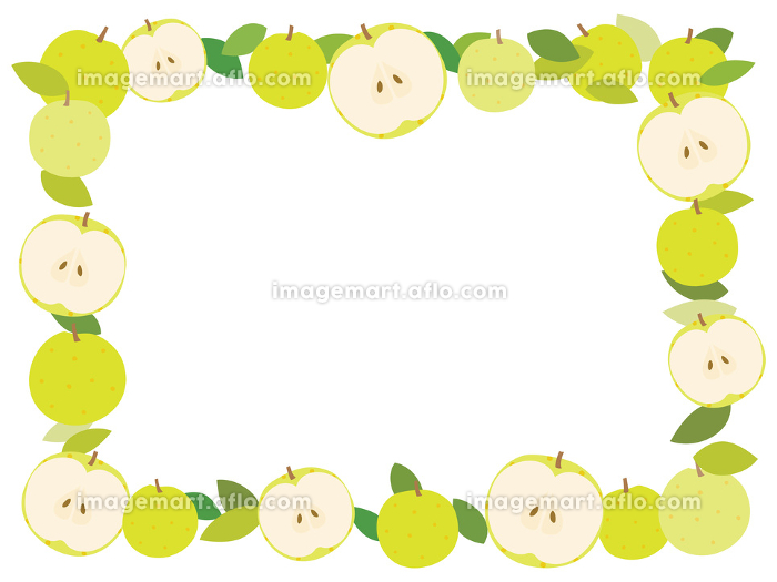 梨のフレーム 全体の販売画像