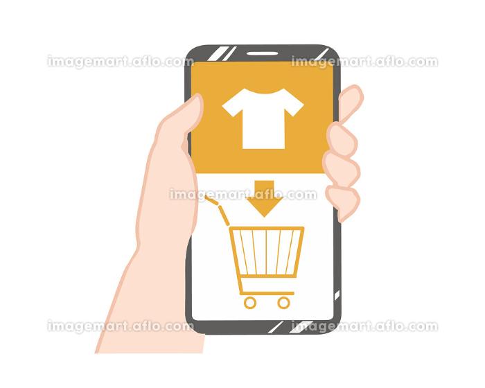 スマホ ネットショッピング 線無しの販売画像