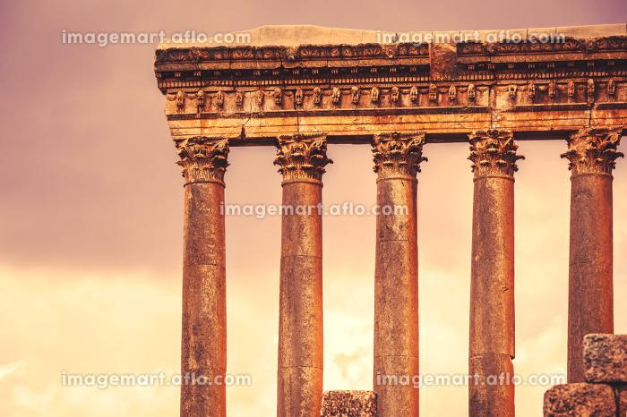 Jupiter's temple of Baalbek, Lebanonの販売画像