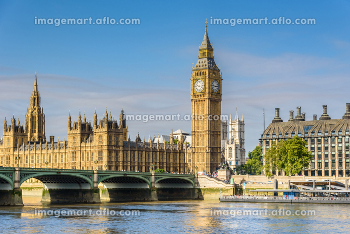 Big Ben and House of Parliament, London, UKの販売画像