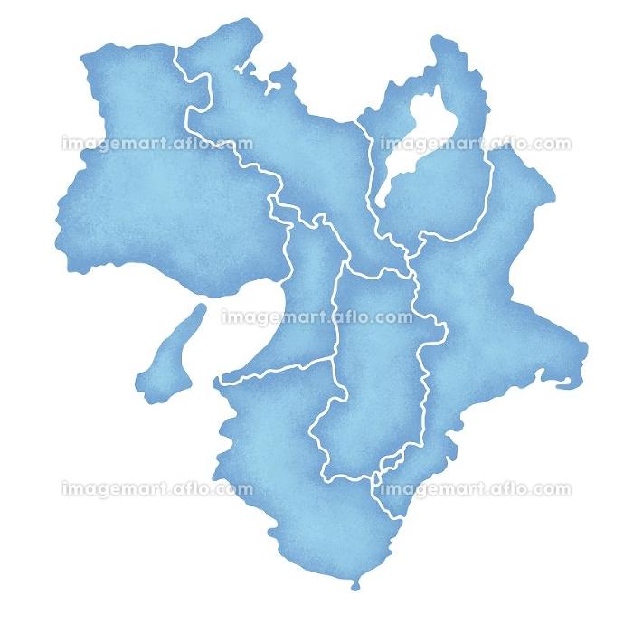 近畿地方の地図の販売画像