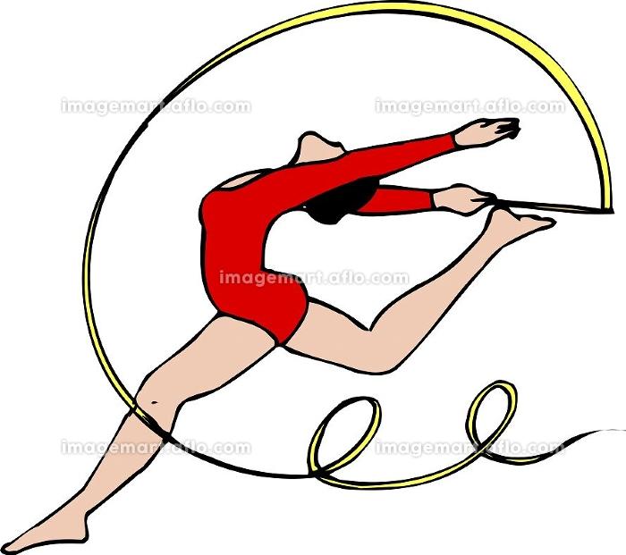 新体操リボンの販売画像