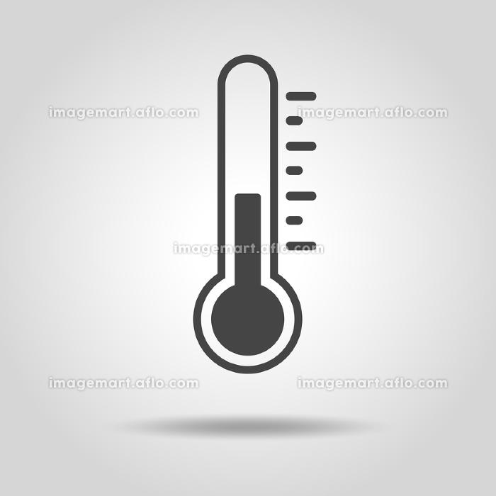 温度計のアイコンの販売画像