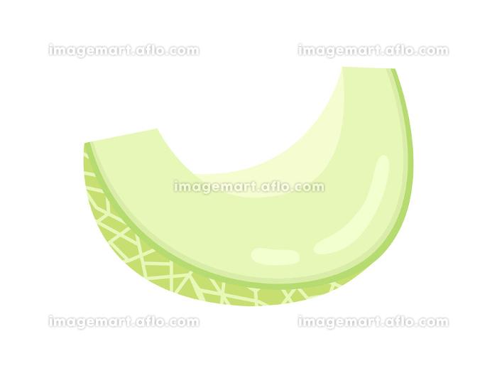 果物のメロンのイラストの販売画像