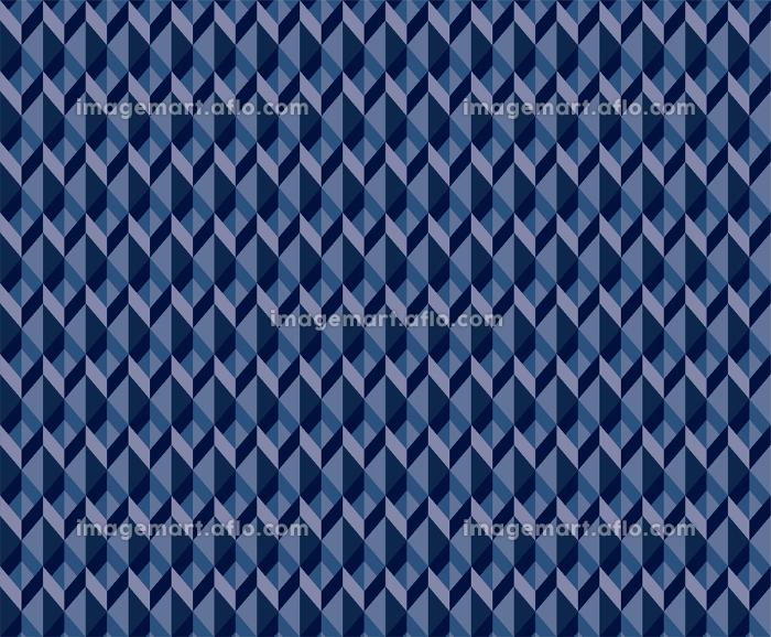 幾何学模様平行四辺形で構成されたシームレスなアブストラクト背景イラストの販売画像