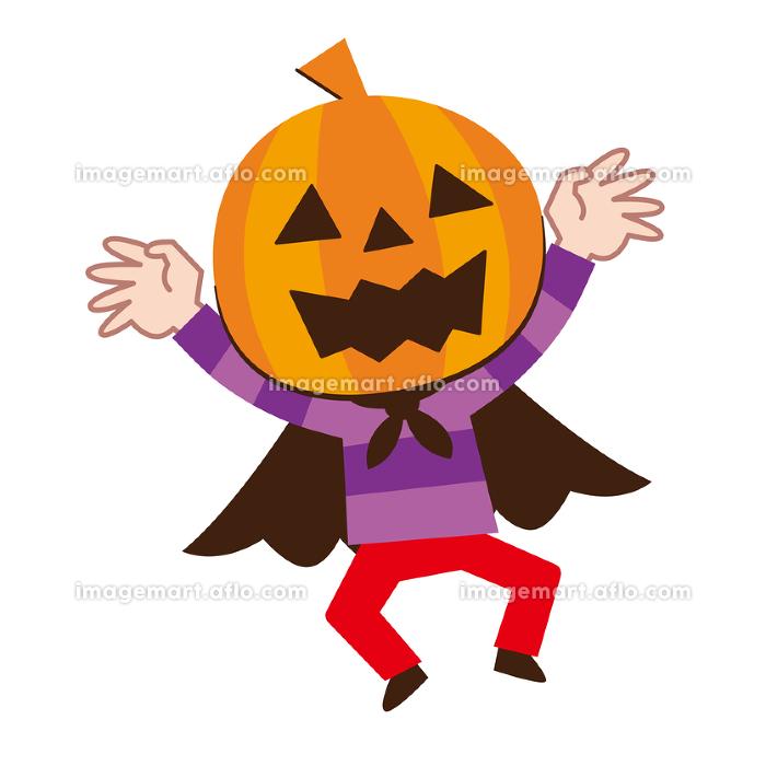 ハロウィン 仮装 かぼちゃの販売画像