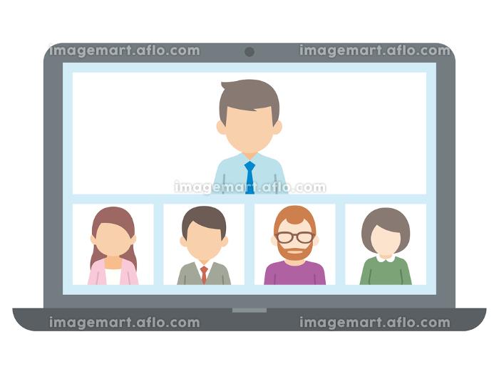 テレワーク リモートワーク オンライン ビデオ会議 ノートパソコンの販売画像