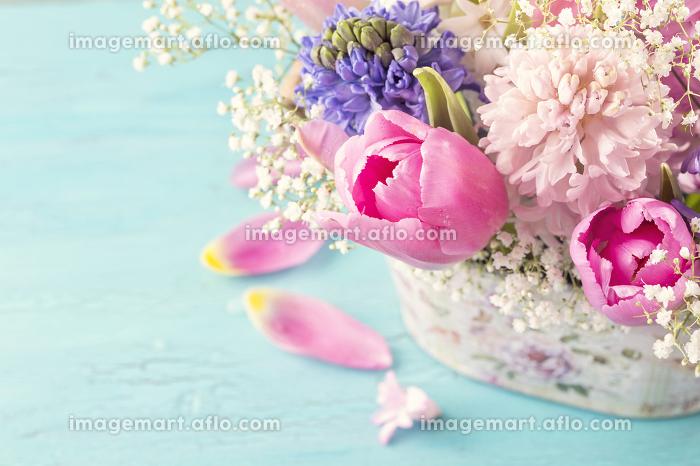 Pastel colored flowerの販売画像