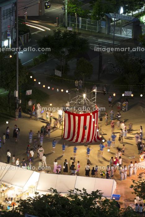 町内の夏祭りの販売画像