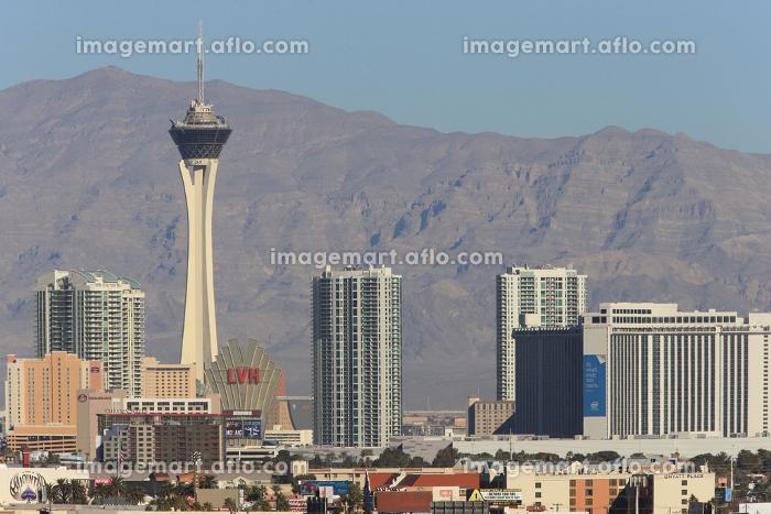 街並み ラスベガス ネバダ州 アメリカ合衆国の販売画像