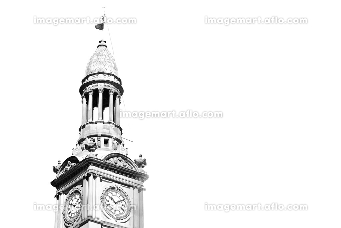 in australia sydney the antique clock tower in the sky