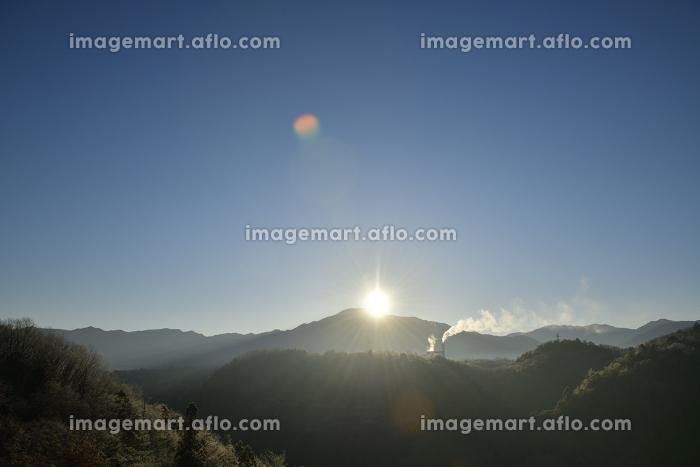 日の出の風景の販売画像