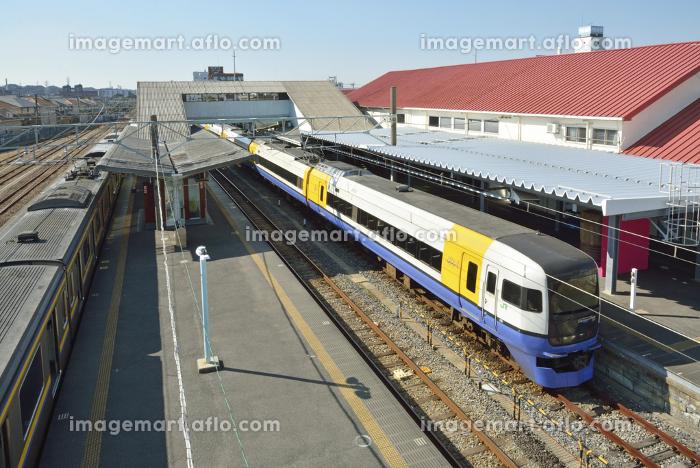 特急しおさい255系電車 JR銚子駅ホーム(110132146) イメージマート