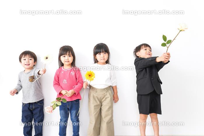 家で遊ぶ子どもたちの販売画像