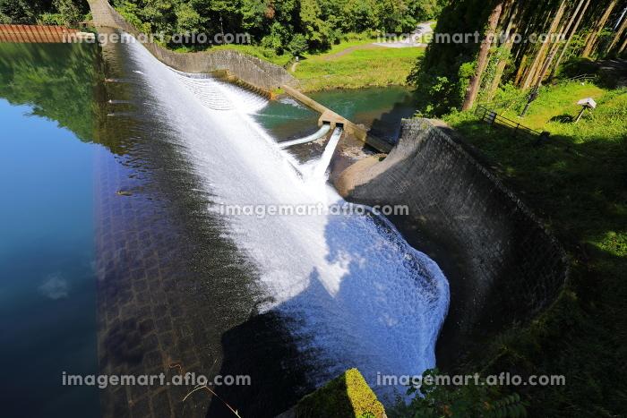 日本一美しい白水ダム 全体の販売画像