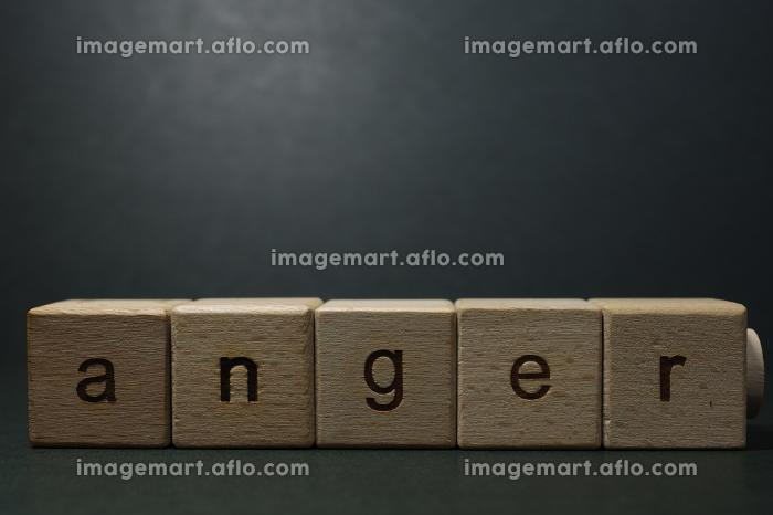 怒り(感情)のイメージ素材の販売画像