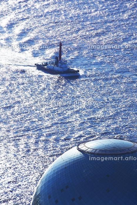 タグボートと海の時空間の販売画像
