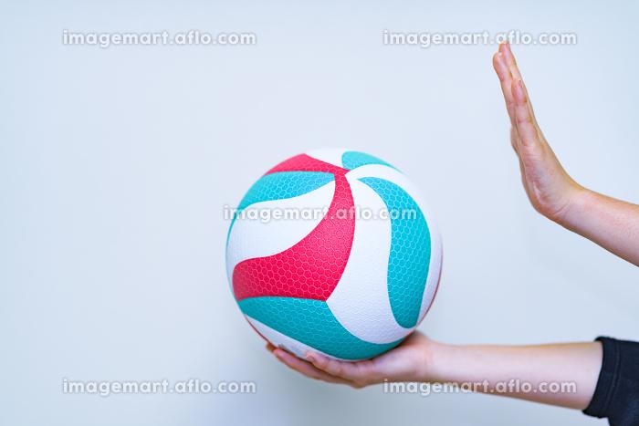 バレーボール 【スポーツ・部活のイメージ】