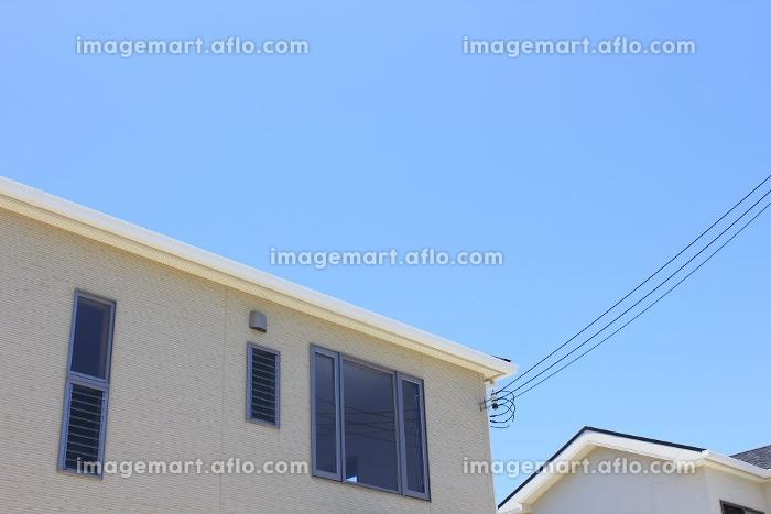 新築住宅の電気の引き込み線の販売画像