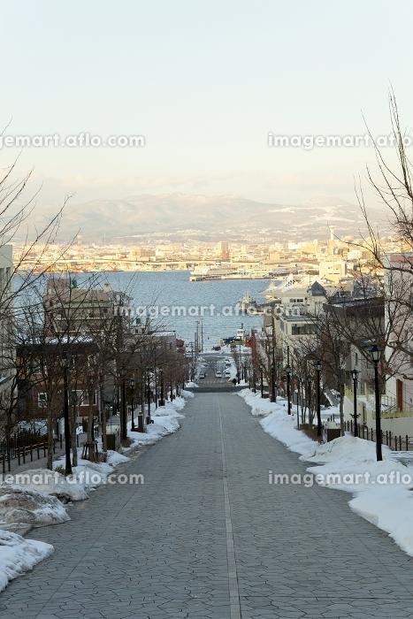 函館市 雪 風景の販売画像
