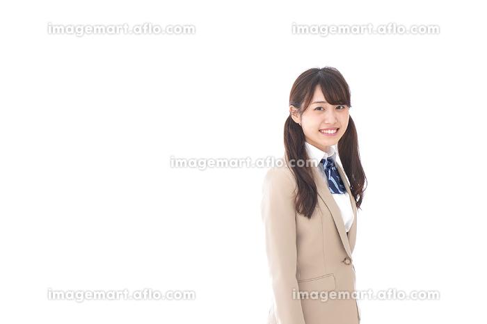 笑顔の中学生・高校生の販売画像