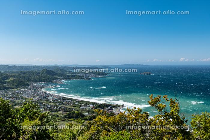 鋸山山頂からの眺め 鋸南町方面 5月の販売画像