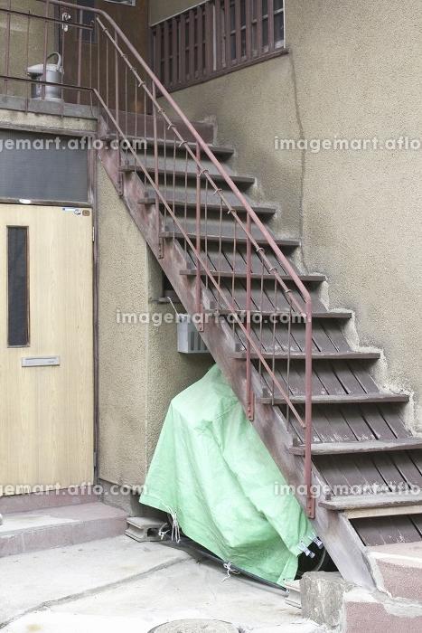 文化住宅の鉄の階段の販売画像